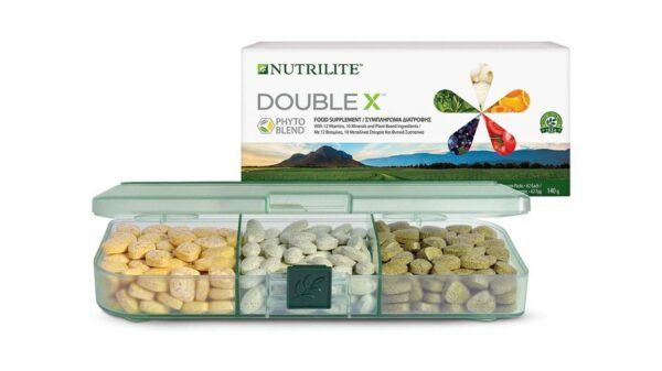 Nutrilite DoubleX with tray 121576 UK IE GR