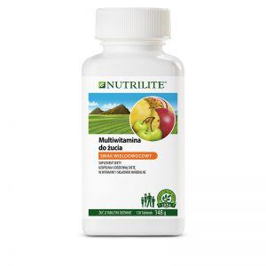 Multiwitamina w tabletkach do żucia NUTRILITE