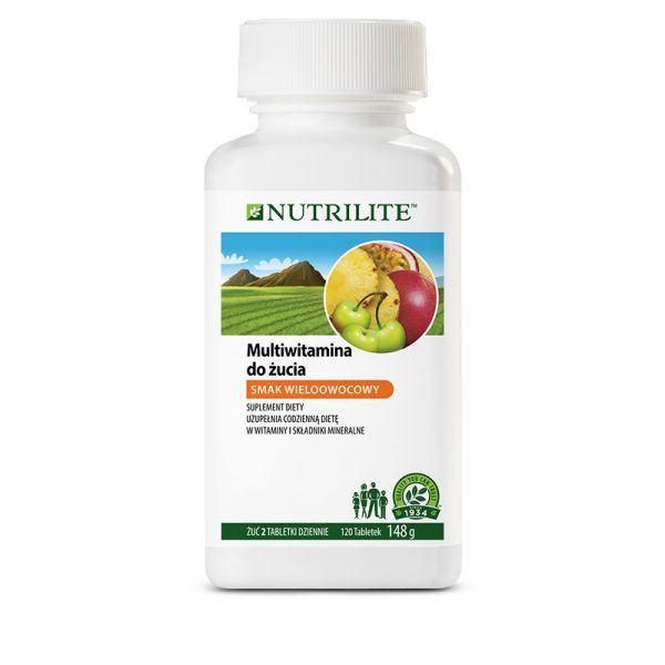 Multiwitamina w tabletkach do żucia NUTRILITE