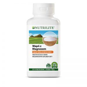 Wapń z magnezem w tabletkach do żucia NUTRILITE
