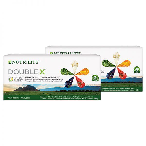 DOUBLE X™ Opakowanie na 62 dni - NUTRILITE