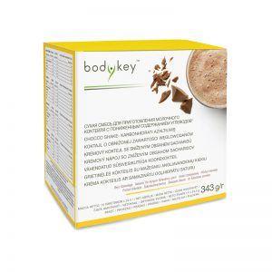 Koktajl czekoladowy o obniżonej zawartości węglowodanów bodykey