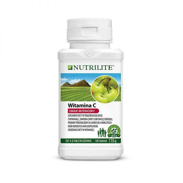 Witamina C w tabletkach do żucia NUTRILITE