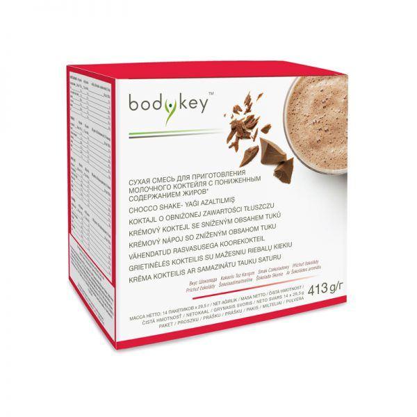 Koktajl czekoladowy o obniżonej zawartości tłuszczu bodykey