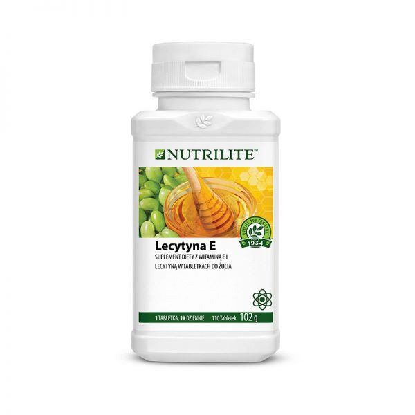 Lecytyna E w tabletkach do żucia NUTRILITE