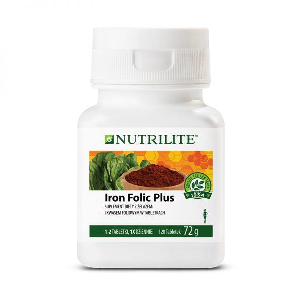 Iron Folic Plus NUTRILITE
