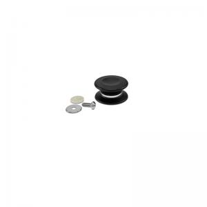 Uchwyt pokrywki i ochronna osłonka do szklanych pokrywek iCook