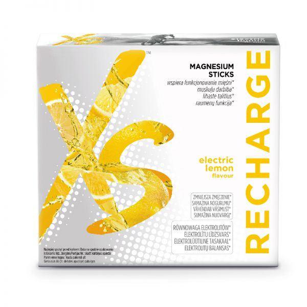 Magnesium Sticks. Suplement diety z magnezem i substancją słodzącą XS
