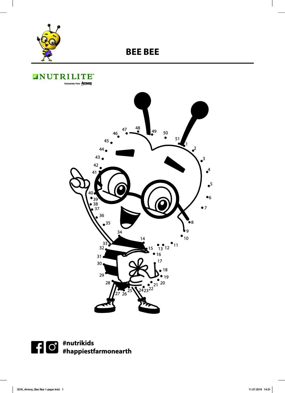 NUTRILITE Kids DIY Bee Bee Games 11 2019 1 pdf